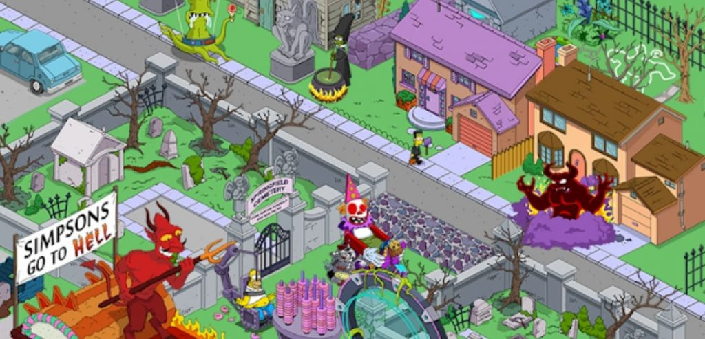 The Simpsons: Tapped Out Mod Apk screen 1