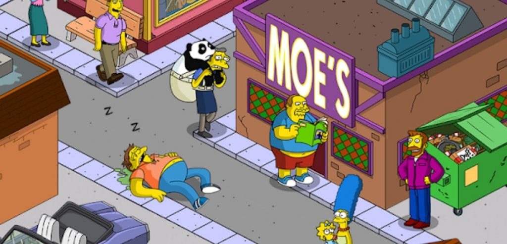 The Simpsons: Tapped Out Mod Apk screen 2