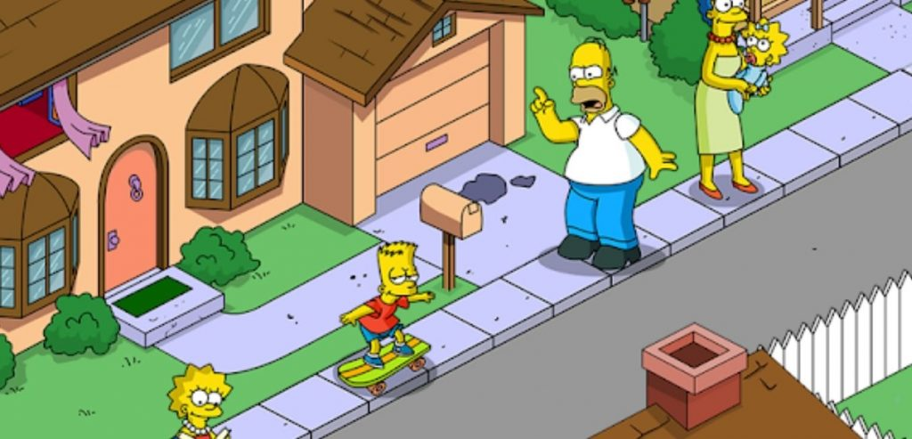 The Simpsons: Tapped Out Mod Apk screen 3