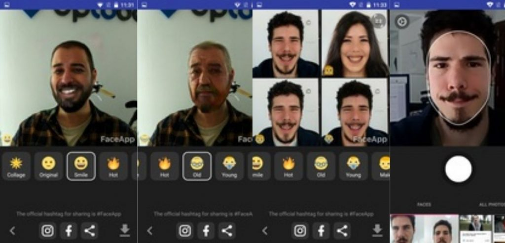 Face App Free Download screen 2