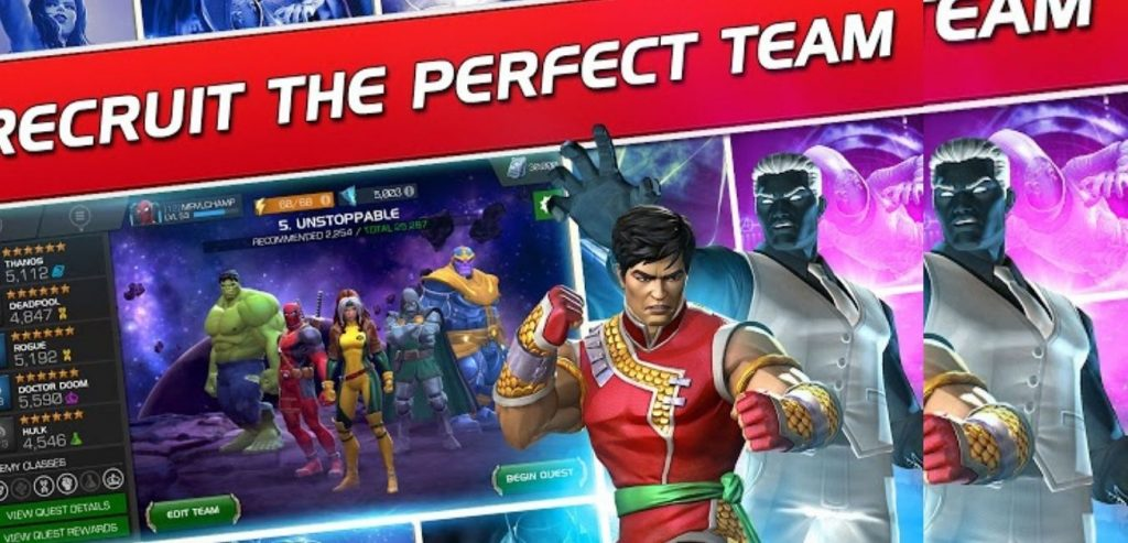 Marvel Contest of Champions screen 3